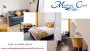 Meetings rooms Bournemouth | conference hotel - Marsham Court Hotel