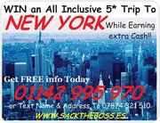 Win a trip to New York!!!